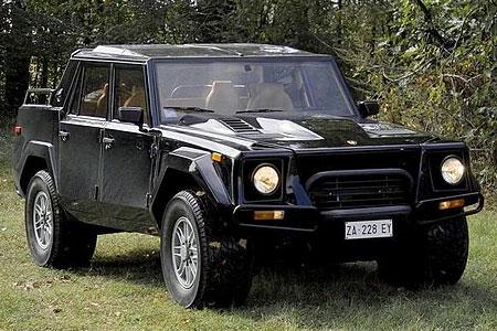 Люксовый джип от Lamborghini