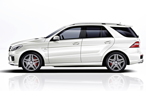 Mercedes-Benz ML 2014 AMG фото