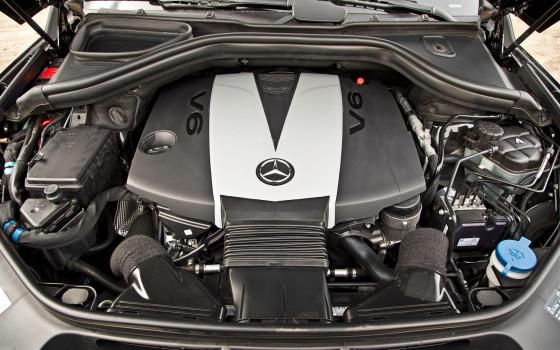 Mercedes ML 350 двигатель и расход топлива