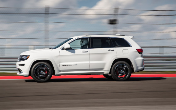Jeep Grand Cherokee SRT 2014 фото