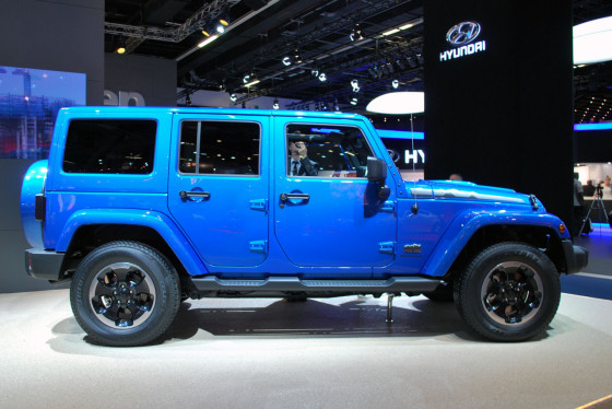 2014 Jeep Wrangler Polar Edition Frankfurt 2013 Photos (7)
