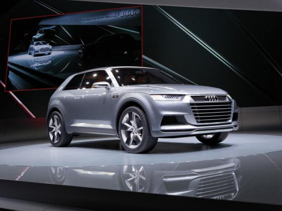 Audi Q9 фото