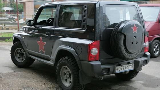Российский внедорожник ТагАЗ