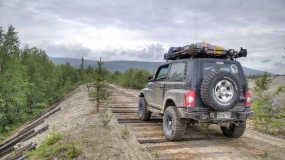 Тагер ТагАЗ уходит в леса