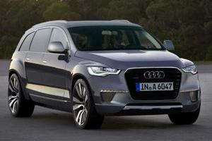 Audi Q9 - конкурент BMW X6