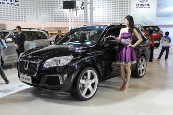 Hawtai Boliger 01 560x373 Китайский внедорожник Hawtai Boliger появится на российском рынке в 2014 году