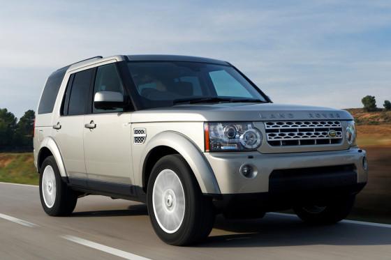 Land Rover Discovery четвертого поколения