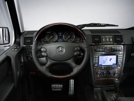 Салон Mercedes G-Class