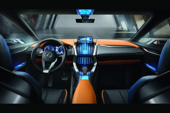 Приборная панель Lexus LF-NX