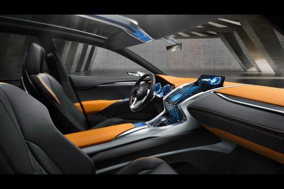 Салон Lexus LF-NX