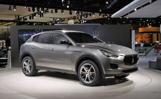 Новый Maserati Kubang