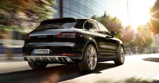 Новый кроссовер Porsche Macan