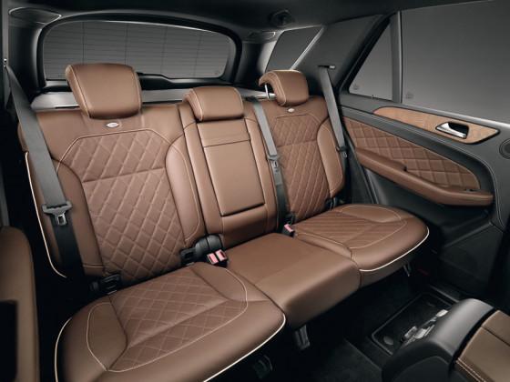 Салон Mercedes Вenz ML 350