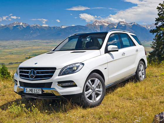 Mercedes Benz ML 350 BlueEFFICIENCY