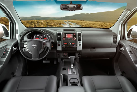 Салон Nissan Frontier