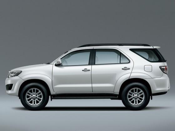 Toyota Fortuner 2014 - внешний облик