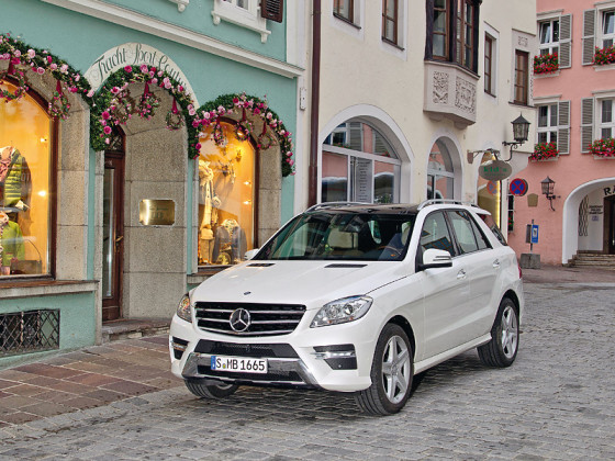 Фото Mercedes Benz ML 350