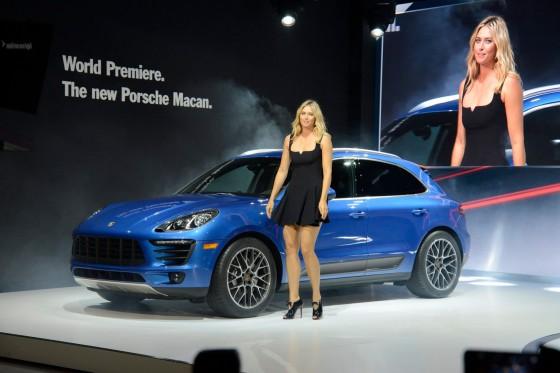 Премьера Porsche Macan