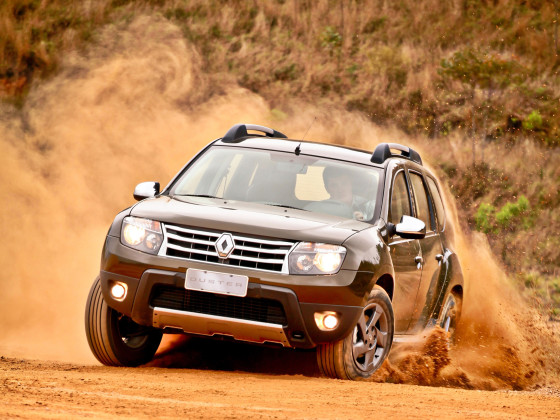 Renault Duster на бездорожье