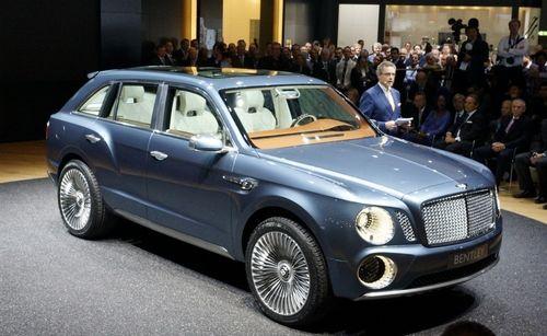 Выпуск первого внедорожника Bentley ожидается в 2016 году