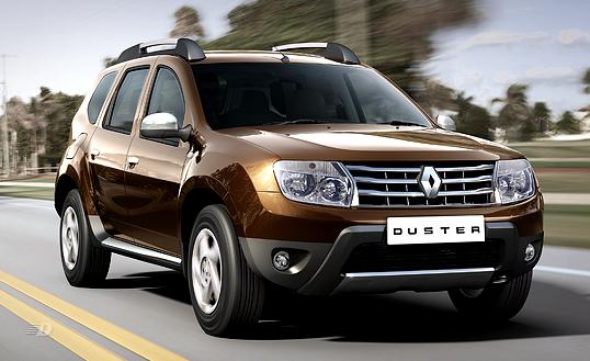 Renault Duster лидер продаж кроссоверов в России