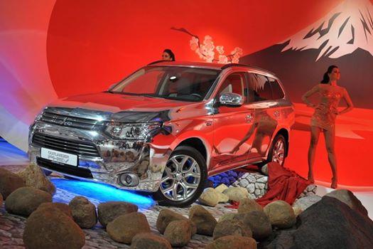Mitsubishi на ММАС-2014