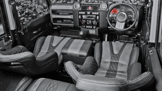Приборная панель Land Rover Defender XS 110