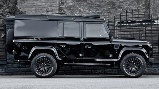 Внешний вид Land Rover Defender XS 110