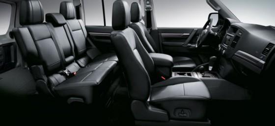 Интерьер Mitsubishi Pajero IV
