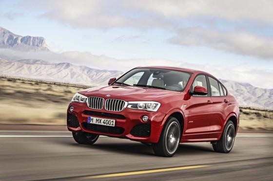 BMW X4 2015 - объявлены цены на новый кроссовер от BMW