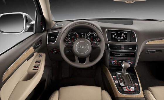 Салон Audi Q5 2015
