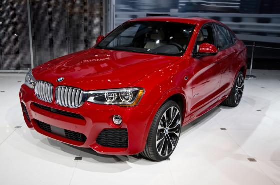 Объявлены цены на BMW X4 2015