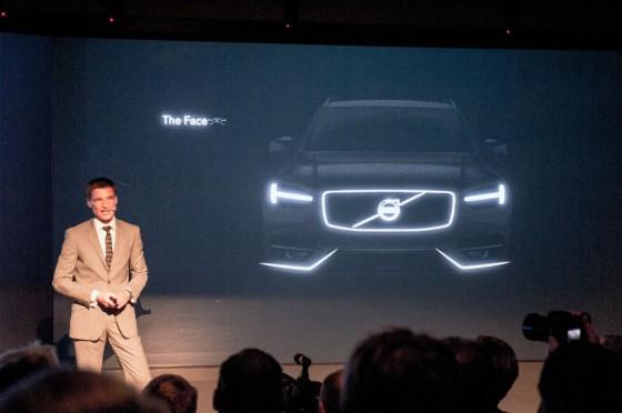 Презентация Volvo XC90 нового поколения