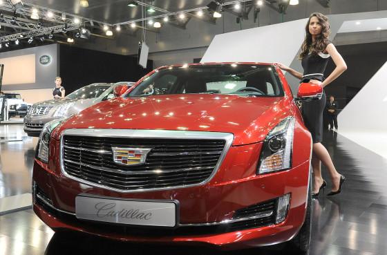 Cadillac на ММАС-2014
