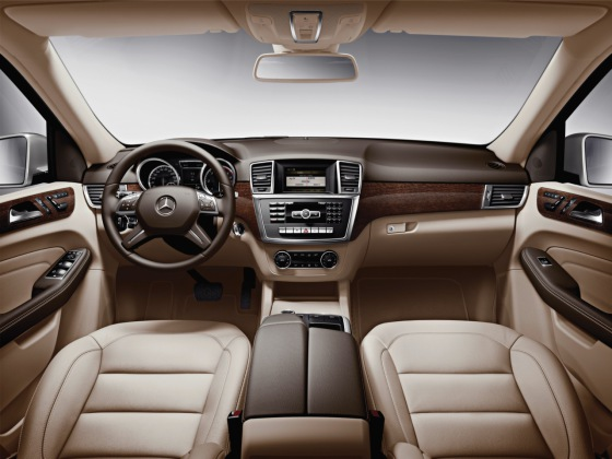 Салон Mercedes-Benz W166
