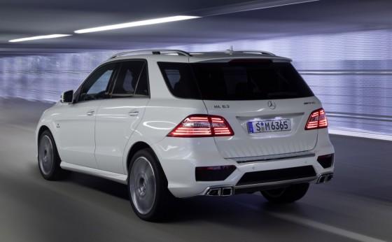 Mercedes-Benz W166 вид сзади