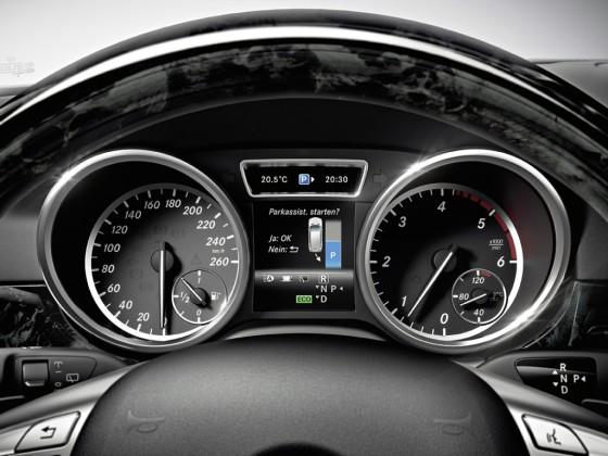 Приборная панель Mercedes GL X166