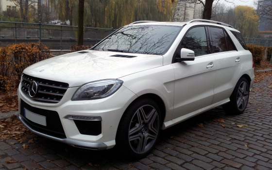 Экстерьер Mercedes-Benz W166