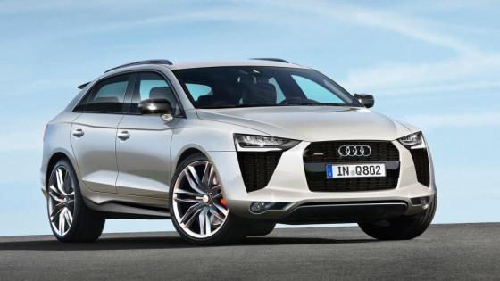 Кроссовер Audi Q5 2015