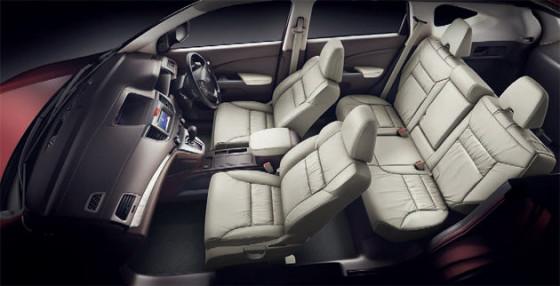 Салон Honda CR-V 2013