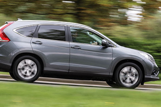 Новая Honda CR-V 2013