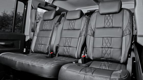 Салон Land Rover Defender XS 110