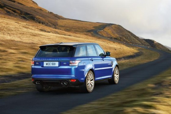 Новый Range Rover Sport SVR