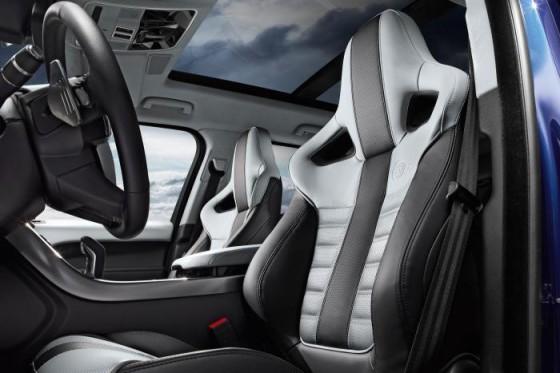 Салон Range Rover Sport SVR 2015