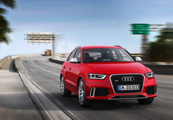Audi Q3 2014 модельного года