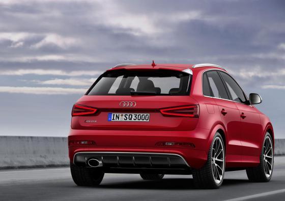 Audi Q3 2014 вид сзади