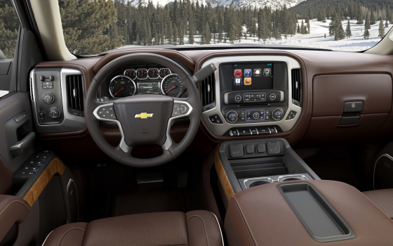 Приборная панель  Chevrolet Silverado High Country
