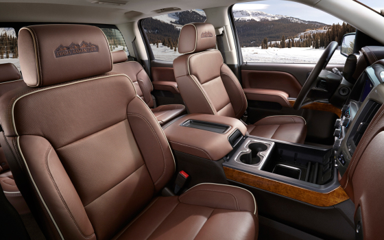 Салон Chevrolet Silverado High Country