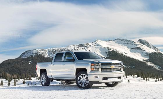 Фото Chevrolet Silverado High Country