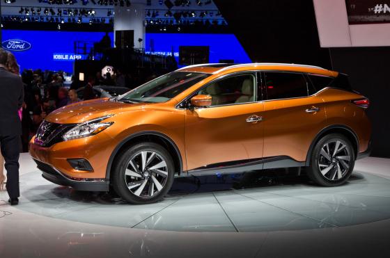 Премьера нового Nissan Murano 2015